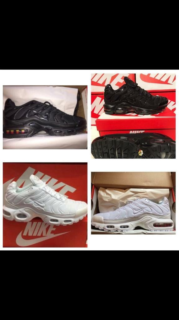 more photos f9218 c8a12 Nike tns new in box air max plus tan trainers all black all white | in  Nottingham, Nottinghamshire | Gumtree