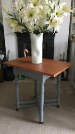 Ornate Side Table Shabby Chic