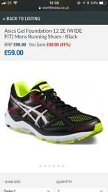 ASICS running trainers