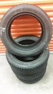 (H226) Pneus Hiver - Winter Tires 215-55-17 Toyo