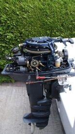 Yamaha 25 HP Outboard Engine 2 Stroke Long Shaft