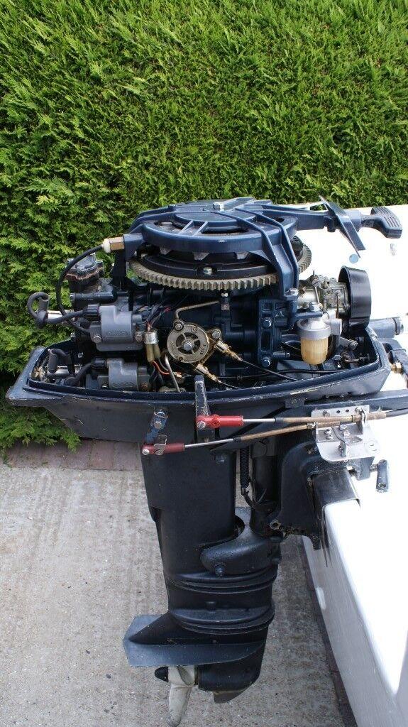 Yamaha 25 HP Outboard Engine 2 Stroke Long Shaft | in Minster on Sea, Kent  | Gumtree