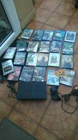 PlayStation 2 with x23 games £45 ono