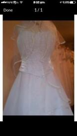 Brand New gorgeous 2 piece wedding dress
