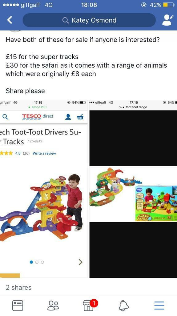 Toot toot safari/super tracks