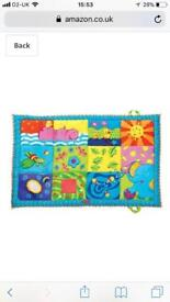 Baby play mat as new