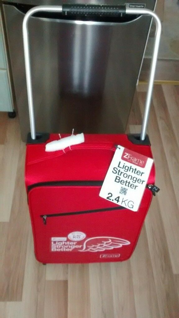 NEW ZFrame SuitCase Red Super lightweight | in Oldham, Manchester ...