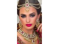 Birmingham Indian Bridal/party hair and makeup