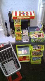 Smoby supermarket shopping toy set