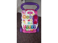 first step baby walker vtech