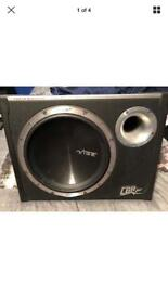 Vibe cbr 12 inch subwoofer with built in amp