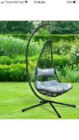 NEW YORK HANGING EGG CHAIR BRAND NEW