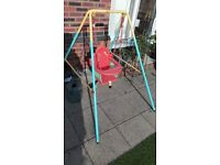 CHilds swing ten month old Very clean condition