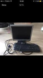 Emachines monitor and keyboard working order