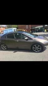 Honda Civic 2.2 diesel 5 door 2010 plate
