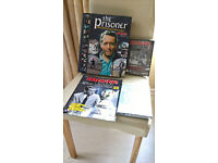 DVD's 1-49 of The Prisoner & Dangerman