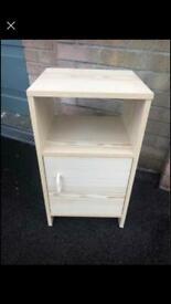 Wooden Handmade Storage/Bedside Unit