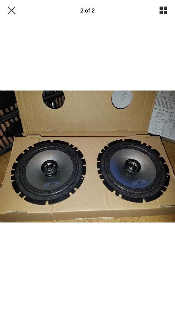 Brand new Alpine 6.5 inch speakers - 220 watts