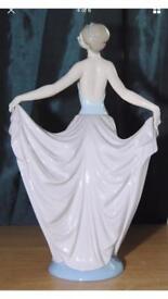 """Beautiful lladro ornament """" the dancer"""" collectors item"""