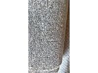 New grey carpet 8 ft 2 ins x 4 ft 6 ins