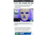 LED Face Mask | Opera Face Mask | Red Light Therapy Device | Skin Rejuvenation Device