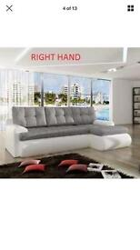 Sofa white and grey colour