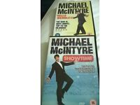 two Michael McIntyre dvds
