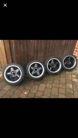 Genuine Schmidt modernline alloy wheels.