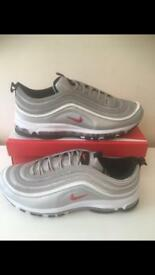 Nike Air Max 97 silver bullets size 11 brand new in box 97s trainers