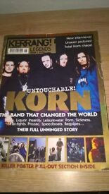 kerrang korn special really rare in v.good condition