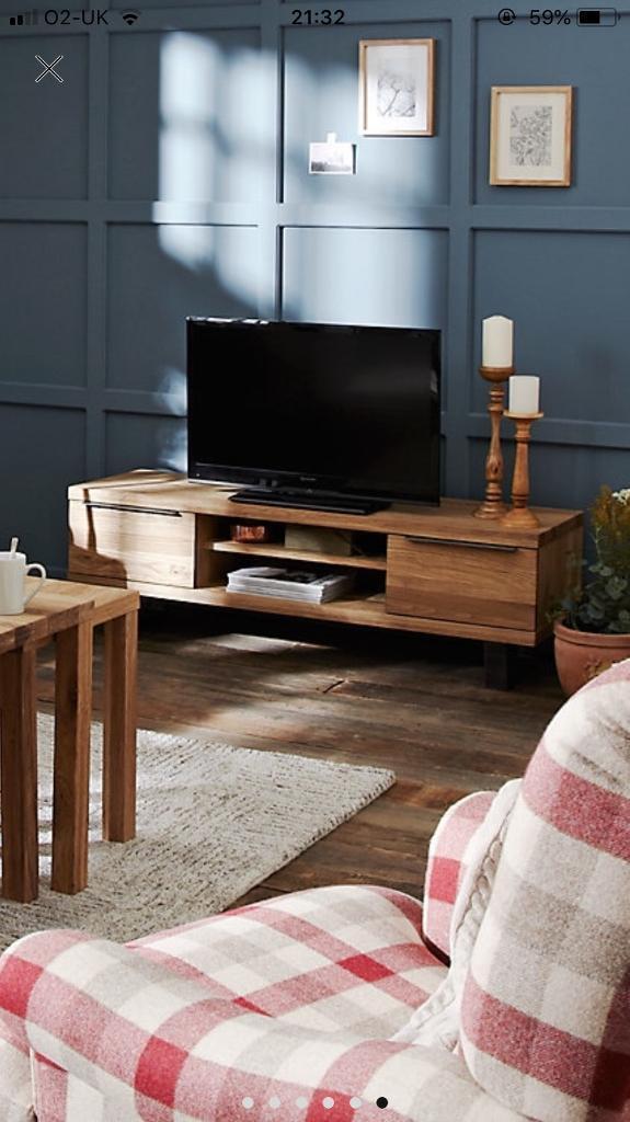 best cheap 214b2 de205 John Lewis calia tv unit in oak and steel rrp£499 | in Haslingden,  Lancashire | Gumtree