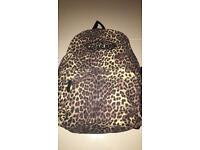 Genuine Vans leopard print rucksack