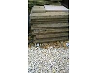 Garden Paving Slabs for sale £2.00 each