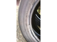 Two 225/55zr17 Tyres.