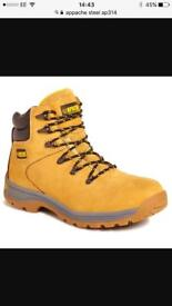 Apache steel toe cap boots size 7 new in box