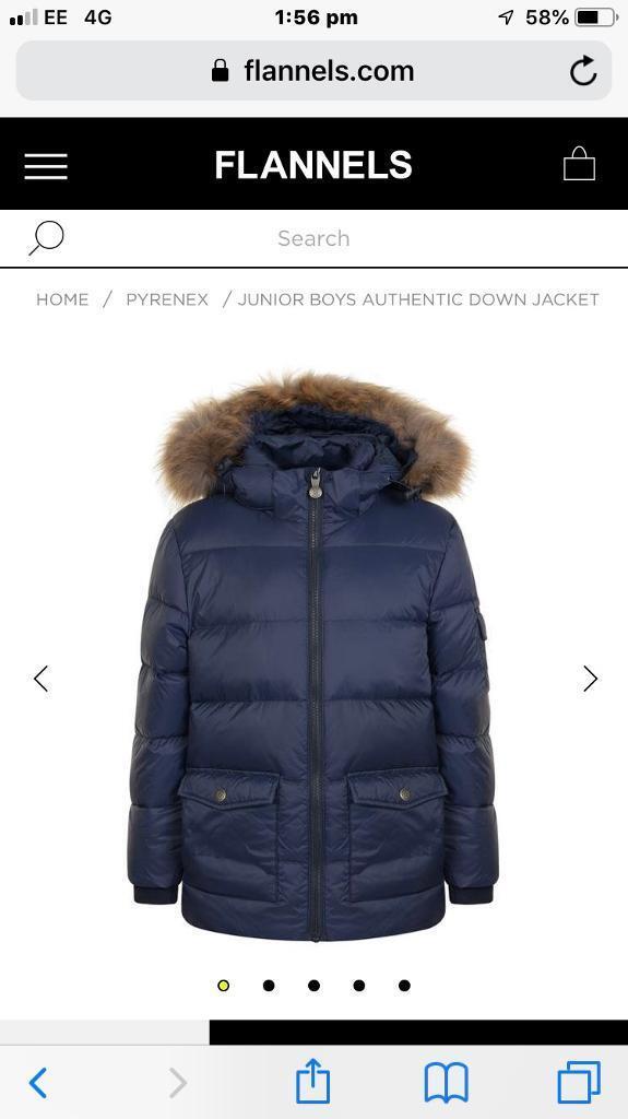 97c03588b Pyrenex boys coat age 16 | in Oxton, Merseyside | Gumtree