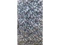 New grey carpet 21ft x 2 ft 6 ins