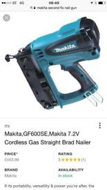 Makita second fix nail gun
