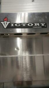 Victory Stainless Steel Freezer
