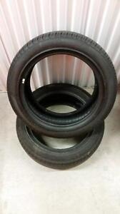 (E29) Pneus d'Ete - Summer Tires 225-50-17 Pirellil RunFlat