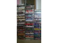 Free VHS Video bundle of various titles.