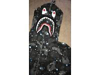 Bathing ape hoodie & track bottoms - Size small