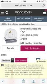 Brand new bird cage, in box