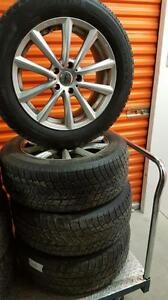 (12) Pneus d'Hiver - Winter Tires 235-60-18 Michelin