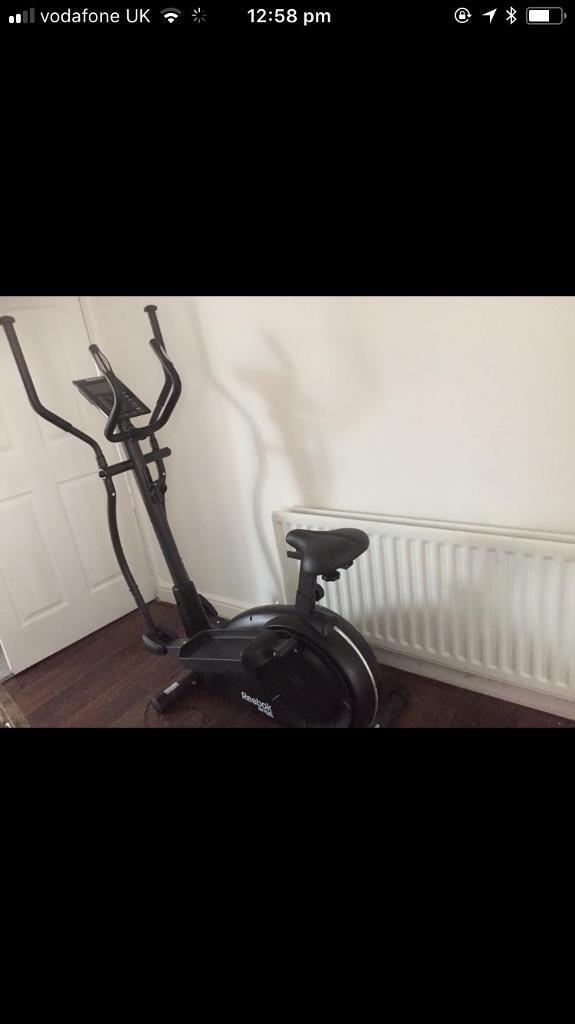 Reebok exercise bike / crosstrainer