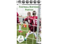 Football Birthday parties