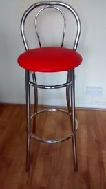 A pair of a bar stools