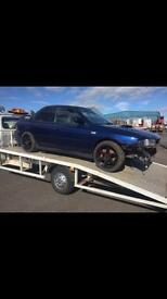 Subaru breaking