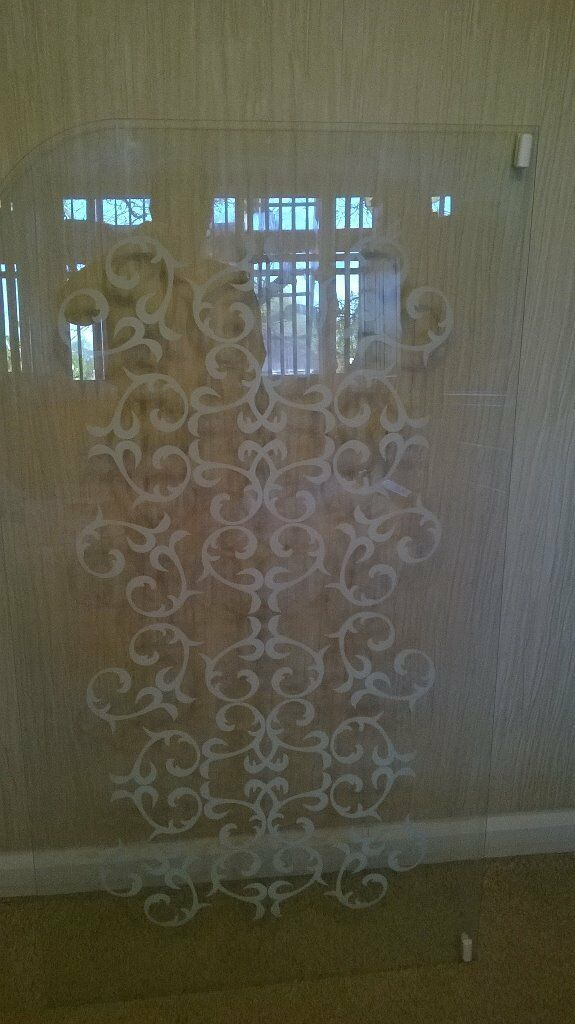 patterned shower screen buy sale and trade ads great prices