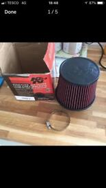 K & N filter cone air filter brand new and boxed